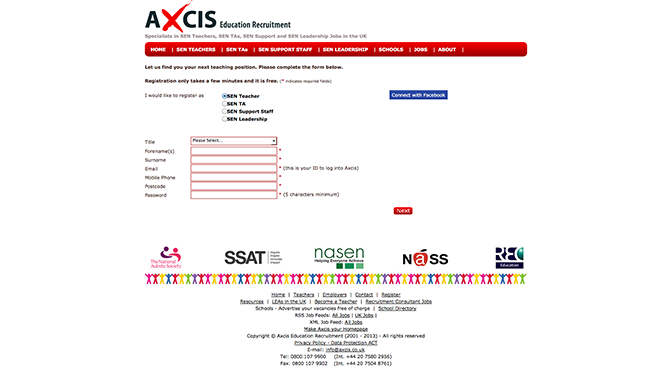 Axcis Recruitment Online Application 672Px