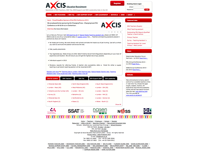 SEN Teaching Jobs And Special Needs Teaching Assistant Jobs - UK - Axcis 672px